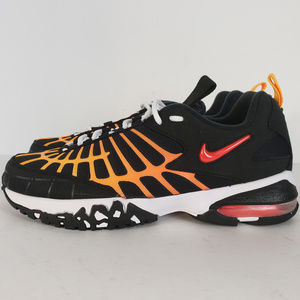 New Nike Air Max 120 Black Laser Orange Mens 8.5